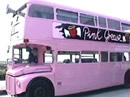 pink grease bus